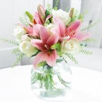 Beautiful Lily & Rose
