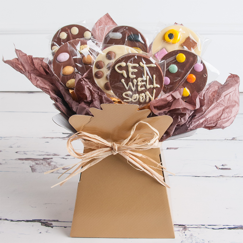 Get well soon chocolate bouquet negle Image collections