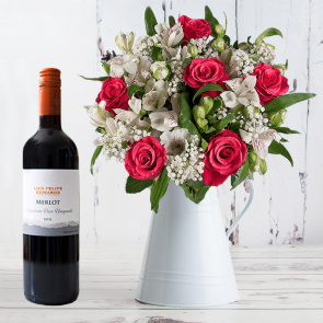 Blessed & Red Wine Gift Set
