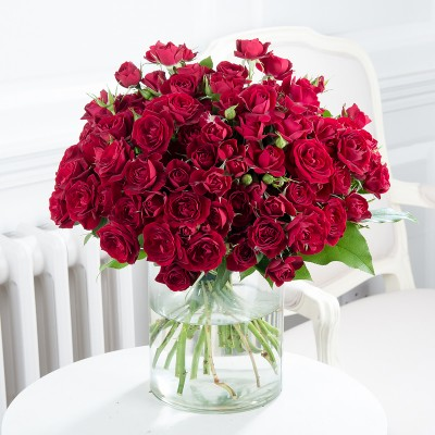 50 Amore Red Roses