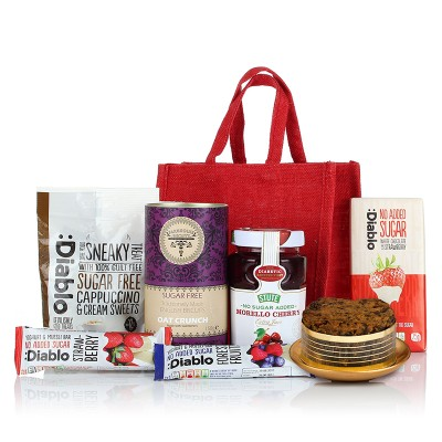 Christmas free from hampers gluten free christmas hampers diabetic jute bag negle Choice Image