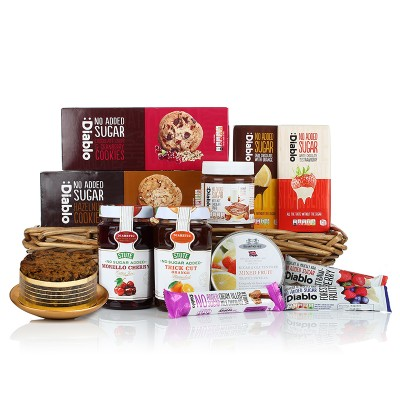 Christmas free from hampers gluten free christmas hampers diabetic tray negle Choice Image